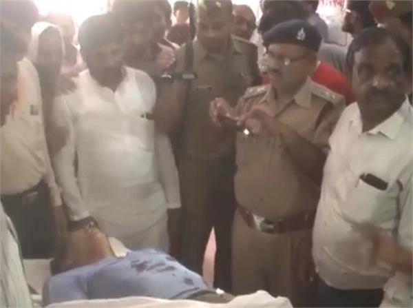 यूपी में बेखौफ बदमाशः दिनदहाड़े बर्तन व्यापारी की गोली मारकर हत्या