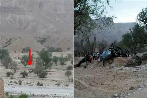 यमन में हैलीकॉप्टर दुर्घटनाग्रस्त, 4 सैनिकों की मौत