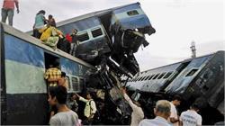 मुजफ्फरनगर ट्रेन हादसा: GRP ने की ट्रेन के पटरी से उतरने की जांच शुरू