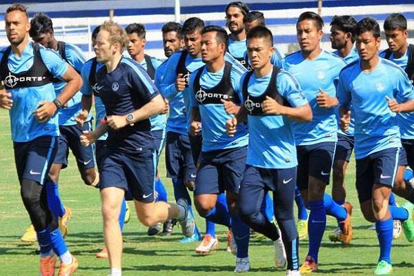 भारतीय फुटबाॅल टीम एक स्थान गिरकर 97वें नंबर पर पहुचीं