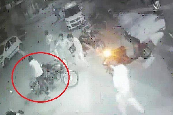 गैंगवार में हत्या का सामने आया CCTV फुटेज, देखिए कैसे मारी थी गोली