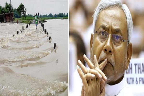 बिहार में बाढ़ का कहर, नीतीश ने PM मोदी से लगाई मदद की गुहार