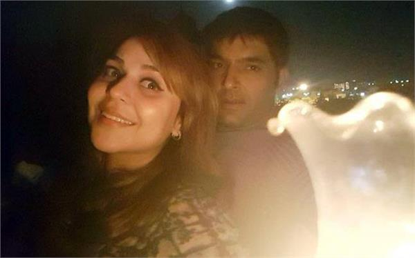 why kapil sharma  s gf ginni messaged sunil grover