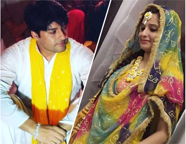 diya aur baati hum actor anas rashid pre wedding