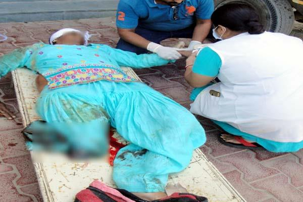 दर्दनाक हादसे ने खोली अस्पताल की पोल, खून के अभाव में गई महिला की जान