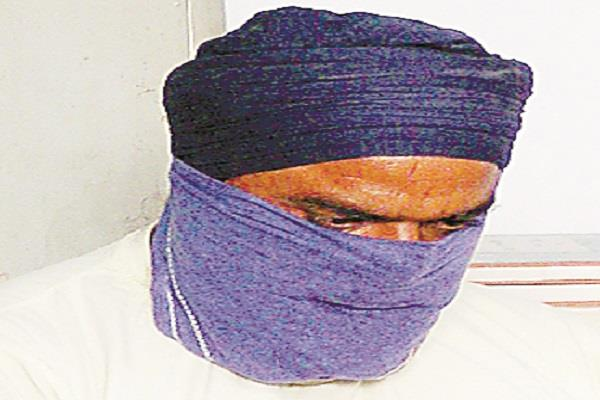 बब्बर खालसा का आतंकी भेजा न्यायिक हिरासत में