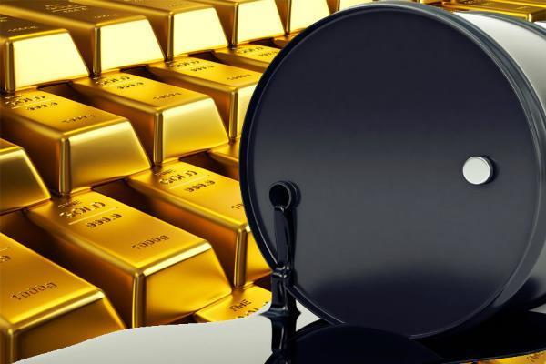 कच्चे तेल में गिरावट, सोने की चमक बढ़ी
