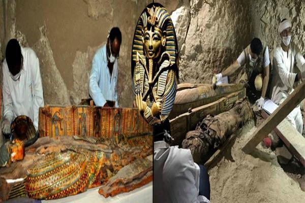 मिस्र में मिला 18वें राजवंश काल का मकबरा, 21-22वीं सदी की ममीज भी हैं