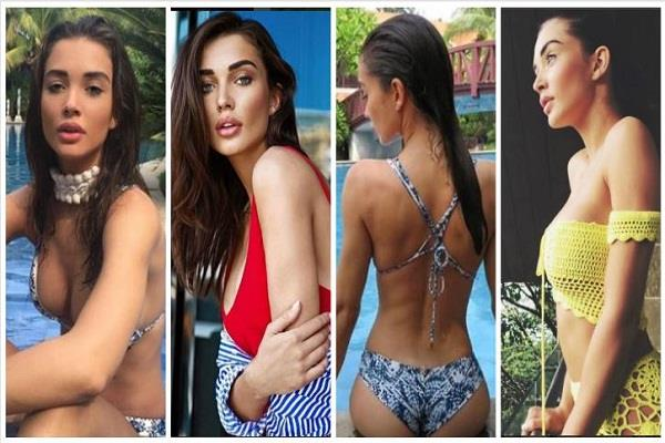 amy jackson share hot pic