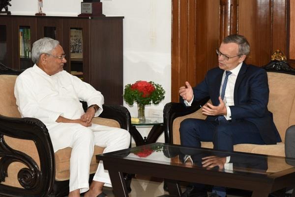 नार्वे के राजदूत ने CM से की मुलाकात, कई मुद्दों पर हुई चर्चा
