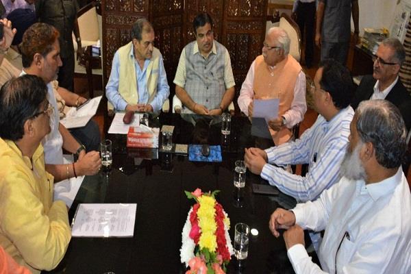 SYL पर सुनवाई आज, केंद्रीय मंत्री गडकरी से मिले सीएम खट्टर