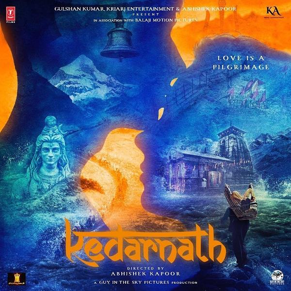 first poster of kedarnath