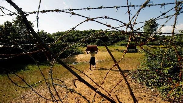 रोहिंग्या मुसलमानों को भारत में घुसने से रोकने के लिए बढ़ाई सुरक्षा