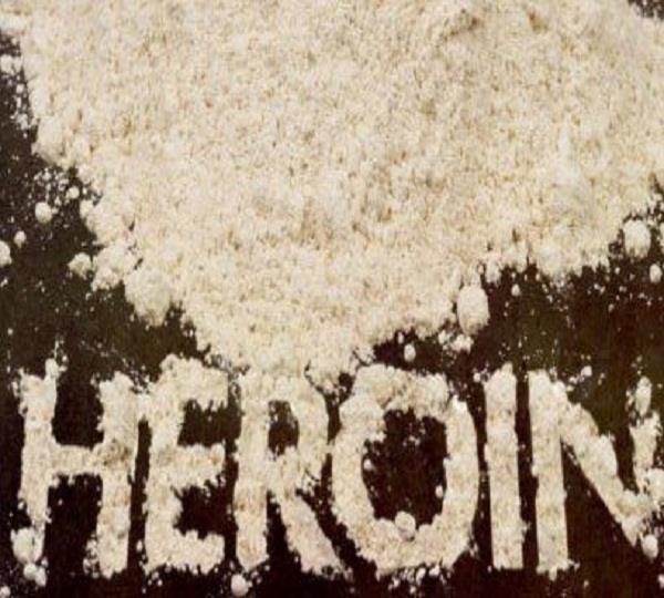 10 ग्राम हैरोइन बरामद