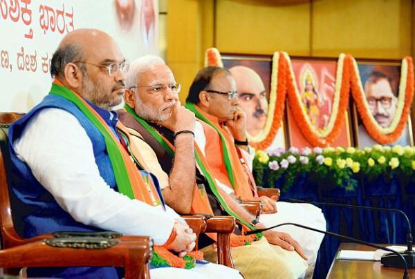 BJP राष्ट्रीय कार्यकारिणी बैठक में बोले शाह, पहले से भी बड़ी होगी 2019 की जीत
