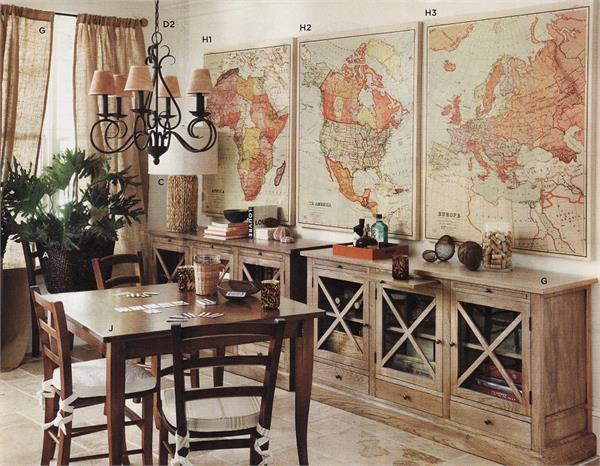इस तरह दें Map Decoration से घर को यूनिक लुक