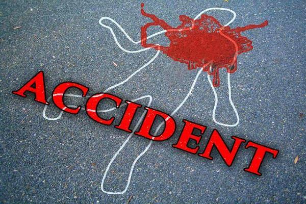 महिला को ट्रक ने कुचला, मौत