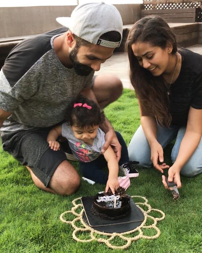 बहुत ही क्यूट तरीके से मनाया शाहिद ने पत्नी मीरा का जन्मदिन