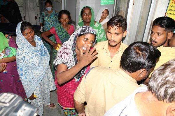 सिविल अस्पताल के जच्चा-बच्चा वार्ड में हंगामा,परिजनों ने डॉक्टरों पर लगाए गंभीर आरोप