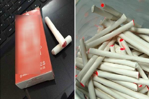 बाजार में बिक रही सिगरेट जैसी दिखने वाली मिठाई, बच्चों पर पड़ रहा बुरा असर