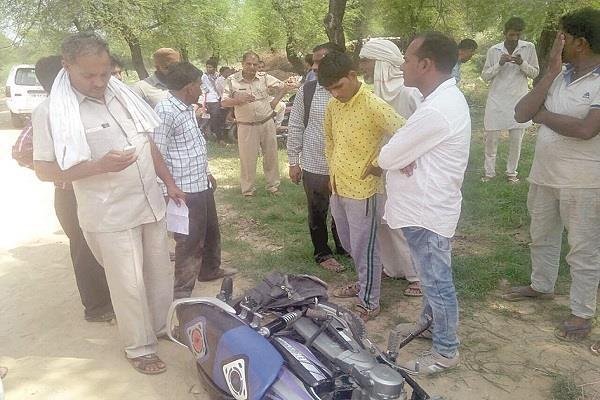 नकाबपोश बदमाशों ने पैट्रोल पम्प कारिंदे से लूटे 5,74,660