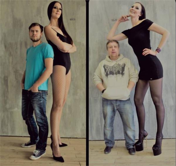 ekaterina lisina worlds tallest in russia