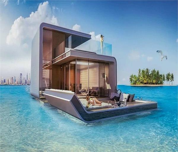 समुद्र के बीच में बसे हैं दुनिया के सबसे खूबसूरत Hotels