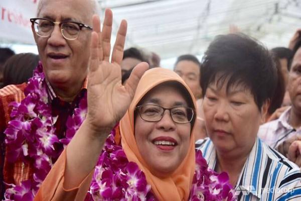 हलीमा याकूब बनी सिंगापुर की पहली महिला राष्ट्रपति