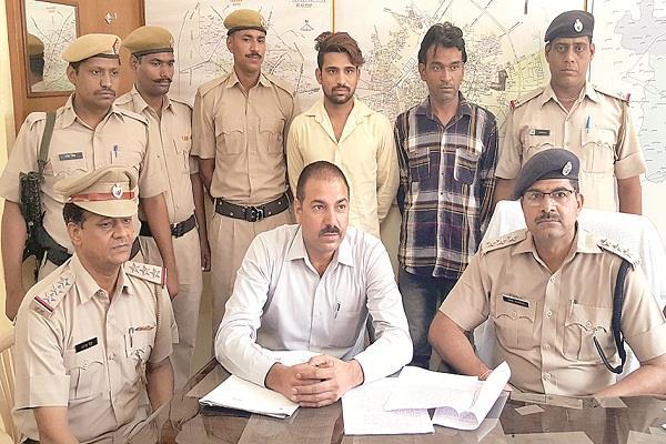 'झोटा' गैंग के ललित उर्फ मरिंडा हत्याकांड की गुत्थी सुलझी, हथियारों सहित 2 गिरफ्तार
