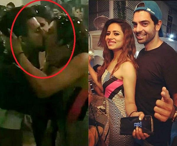 sargun mehta and ravi dubey lip lock