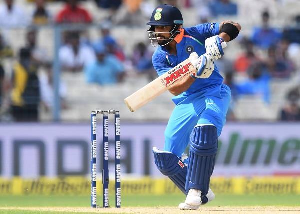 कोहली ने खेली कप्तानी पारी, भारत ने आॅस्ट्रेलिया को दिया 253 रनों का लक्ष्य