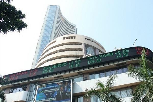 शेयर बाजार में गिरावट हावी, सैंसेक्स 146 अंक गिरकर बंद