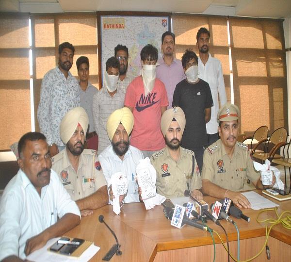 300 ग्राम हैरोइन सहित 3 गिरफ्तार