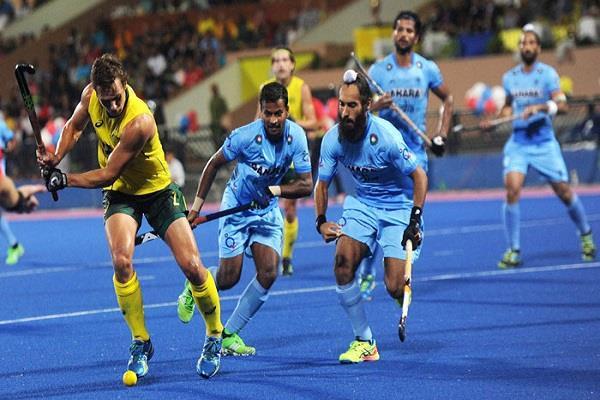 हाॅकी विश्व लीग फाइनल में भारत ''पूल बी'' में, शुरूआती मुकाबला आस्ट्रेलिया से