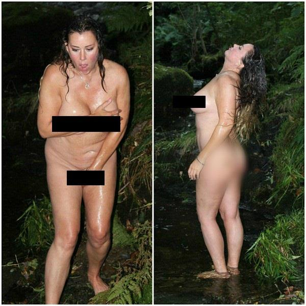 lisa appleton in bold look pictures viral