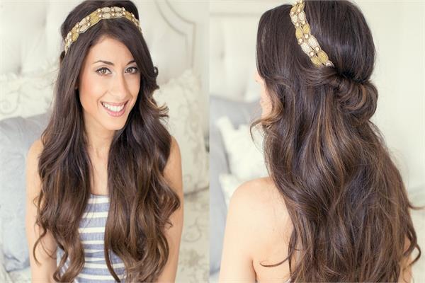 Head bands को बालों में पहन हेयर स्टाइल को दे यूनिक लुक