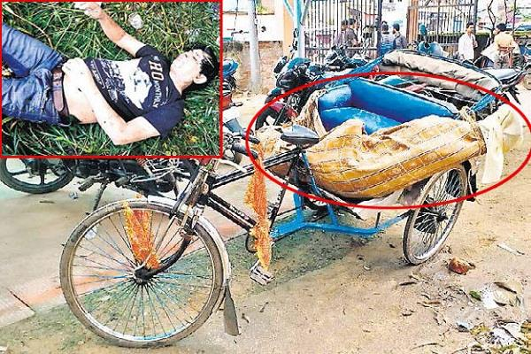 सेप्टिक टैंक से मिला शव, पुलिस द्वारा जांच जारी