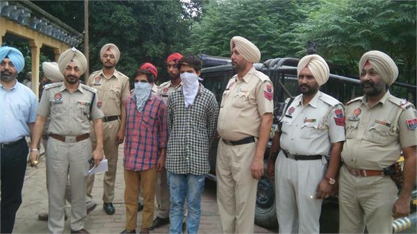 शाहकोट इलाके के 2 गैंगस्टर्स काबू,पुलिस पर फायरिंग कर हुए थे फरार