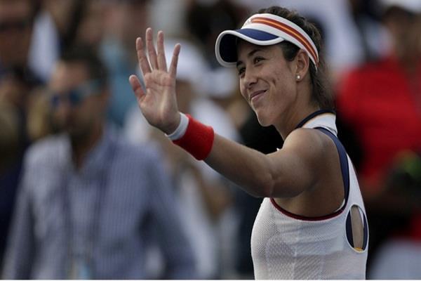 विश्व टेनिस रैंकिंग में मुगुरूजा बनेंगी नंबर वन खिलाड़ी