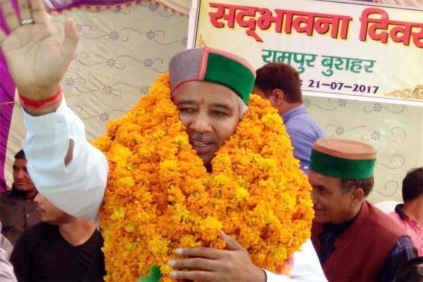 रामपुर कांग्रेस से आहत सिंघी राम ने किया ये प्रण, दिया बड़ा बयान