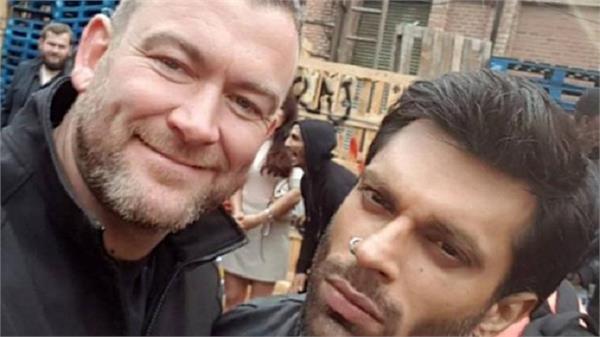 hollywood actor impressed with karan singh grover working togethe