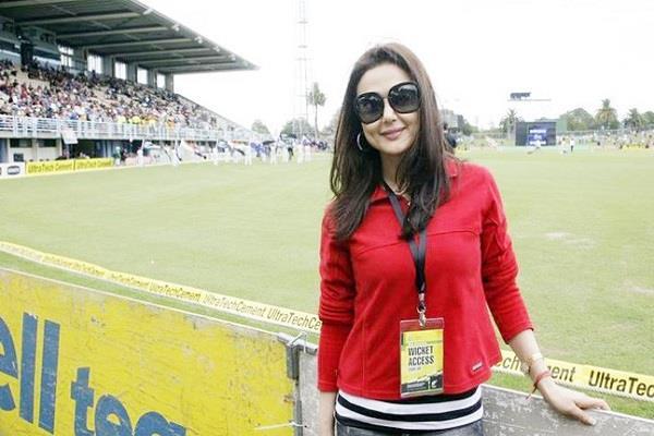 प्रीति जिंटा ने T-20 ग्लोबल लीग में अपनी टीम का नाम बदला