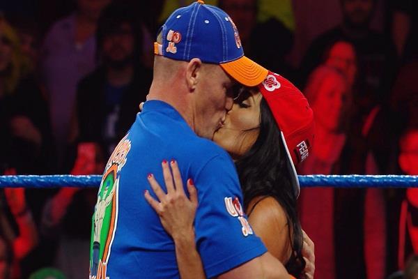 VIDEO: जॉन सीना की मंगेतर ने लंबे समय बाद WWE रिंग में मारी जबरदस्त एंट्री