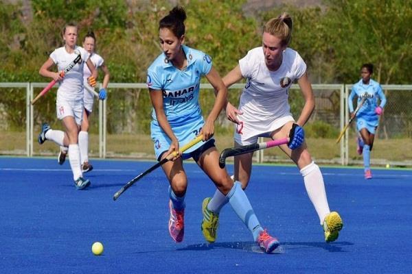 भारतीय महिला हॉकी टीम विक्टोरिया से 1-3 से हारी
