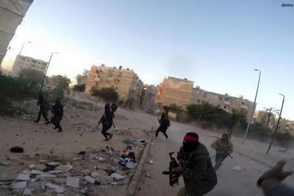 उत्तरी सिनाई में पुलिस नाके पर हमला, 5 आतंकवादी और 2 सैनिकों की मौत