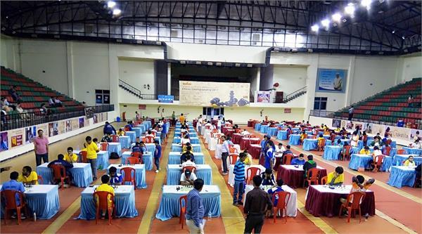 47वी राष्ट्रीय जूनियर शतरंज स्पर्धा - हर्षा ,कार्तिक ,ऋतुजा और हर्षिता को बढ़त