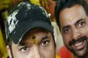 kapil sharma reached baglamukhi before his comeback
