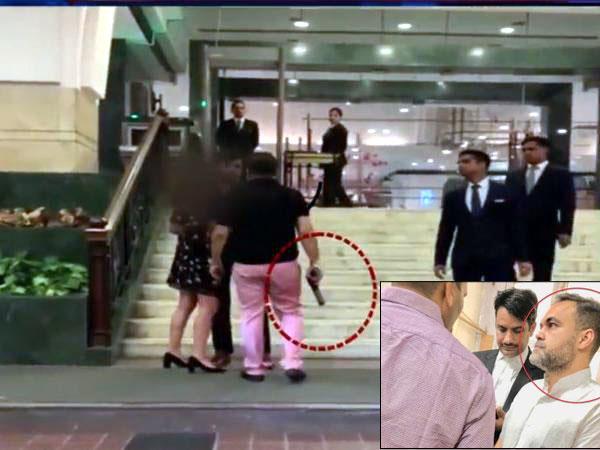 दिल्ली होटल पिस्तौल कांड: आशीष पांडे ने किया सरेंडर, जारी की वीडियो