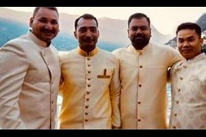 in deepika ranveer wedding invited bodygaurd driver and fitness trainer