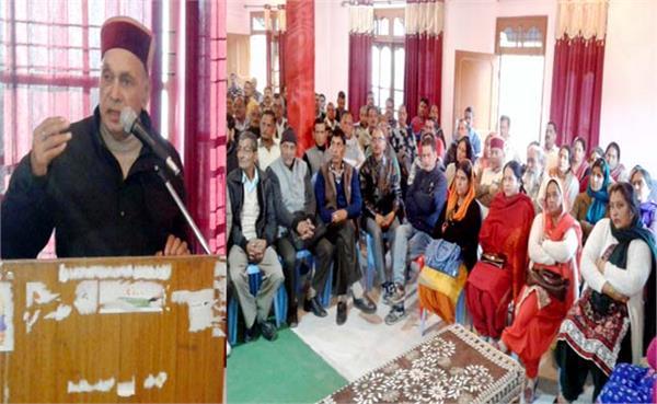 सुजानपुर में धूमल की हार पर मैराथन मंथन, बंद कमरों में हुईं बैठकें